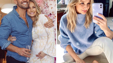 We want everything in Anna Heinrich's fashion-forward maternity wardrobe