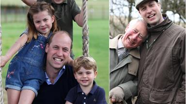 Duchess Catherine's snaps of Prince William sharing gorgeous, candid moments with the kids and his dad, Prince Charles are revealed