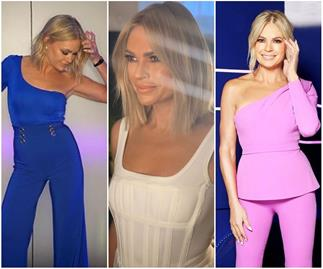 Sonia Kruger's wardrobe on Big Brother is almost as dramatic as the show itself