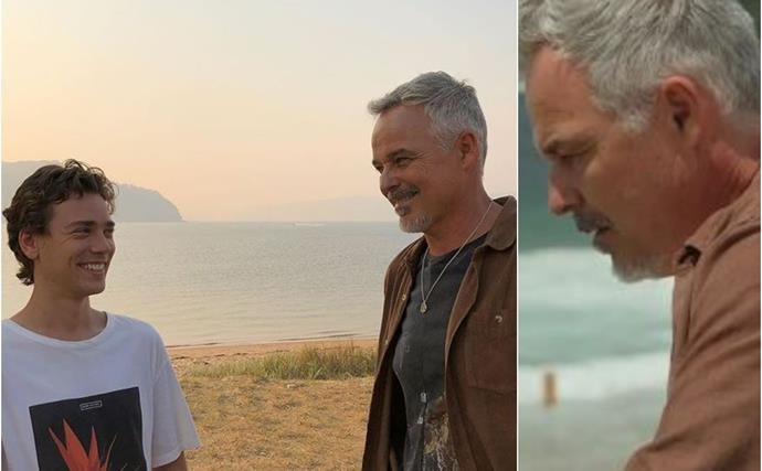 The cast of Home & Away pen emotional tributes to Cameron Daddo as his shock storyline comes to a head