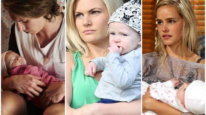Summer Bay...bies: Here's a bunch of Home & Away's cutest little tots to brighten your day