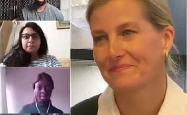 Sophie of Wessex just crashed a video call - and the surprise and shock to ensue is the best thing you'll see today