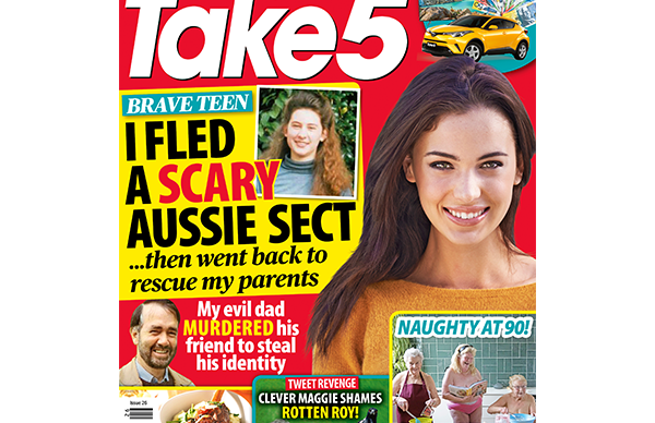 Take 5 Issue 26 Online Entry Coupon
