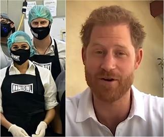 Prince Harry gets back into action post-lockdown with several significant appearances within a week
