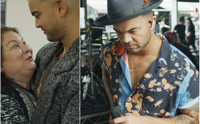 """EXCLUSIVE: """"I was terrified!"""" Guy Sebastian's most personal moment yet is about to be broadcast to Australia"""