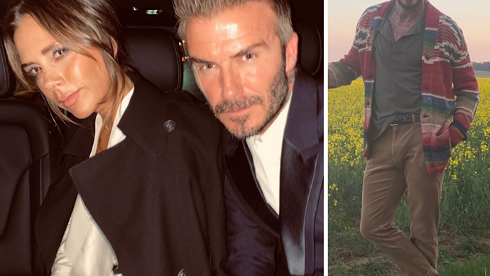 David Beckham reveals the favourite clothing item his fashion designer wife Victoria Beckham hates