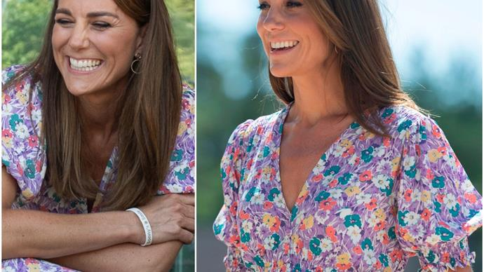 Duchess Catherine wore one of this year's biggest trends during her latest outing - and fans are loving her look