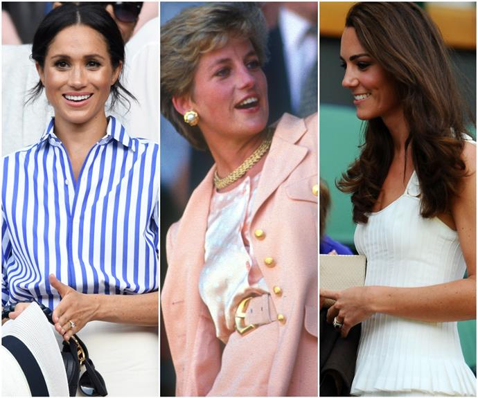 Game, set, fash: All the glorious photographic evidence to prove the royal family's Wimbledon outfits are the pinnacle of summer fashion
