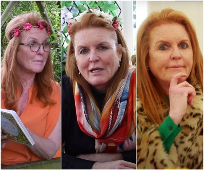 We need to talk about Sarah Ferguson's lockdown outfits from her Storytime YouTube channel