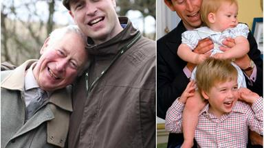 Duchess Catherine's new photo of Prince Charles and Prince William says a lot more about their relationship than you'd think