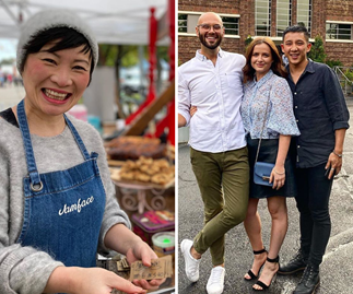 Here's where you can meet your favourite MasterChef contestants and taste their delicious cooking in real life