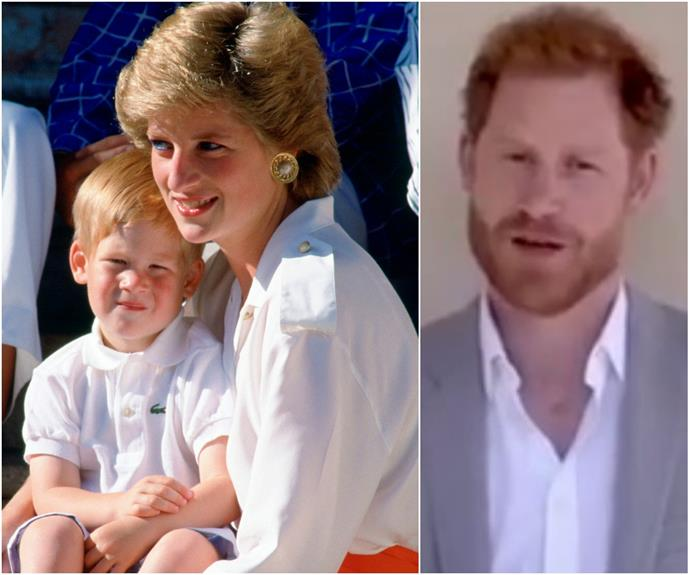 Prince Harry shares an emotionally charged video on his later mother, Princess Diana's 59th birthday