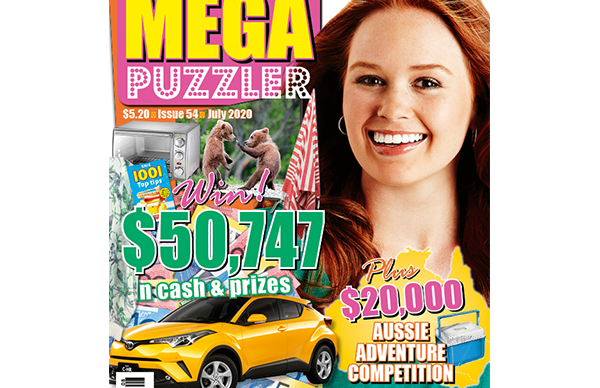 Take 5 Mega Puzzler Issue 54 Online Entry Coupon