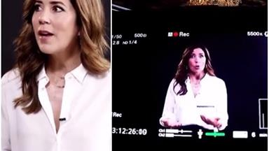 Crown Princess Mary is mesmerising as she films a special movie in Danish