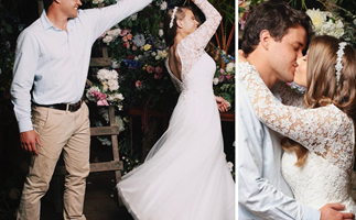 EXCLUSIVE: Bindi Irwin and Chandler Powell's secret second wedding!