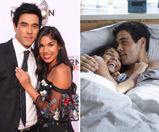 They're the ultimate Summer Baes! Sarah Roberts and James Stewart's love story in pictures
