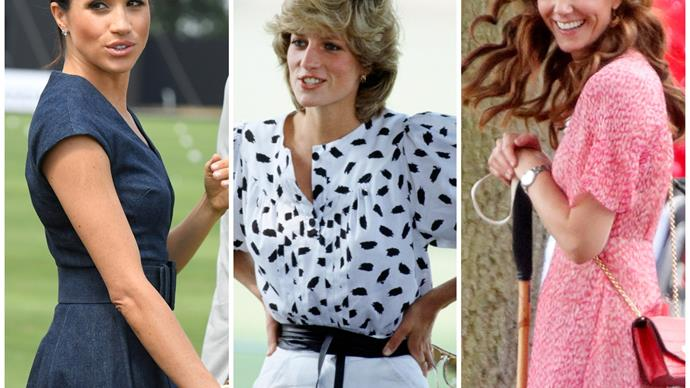 Glamour on the grass: The best royal fashion moments at the polo over the years