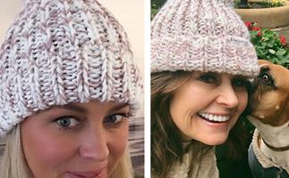 Stars rally around Carrie Bickmore's incredible Beanies 4 Brain Cancer campaign