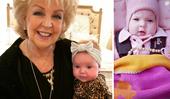 """Patti Newton's cute new photo of """"darling"""" granddaughter Perla"""