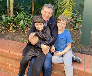 REAL LIFE: Aussie Dad reveals how one phone call from his little boys saved his life