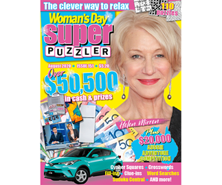 Woman's Day Superpuzzler Issue 151 Online Entry