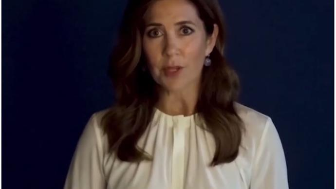 Crown Princess Mary delivers a stirring speech on women's rights in a virtual royal first