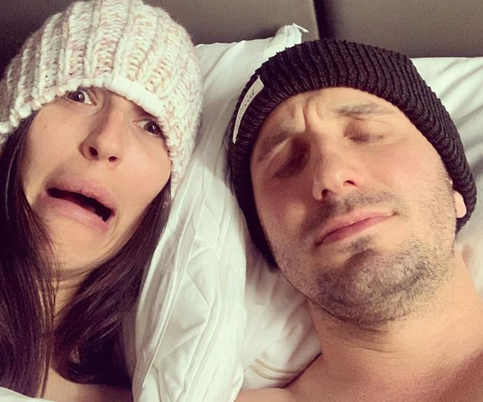 Tommy Little and new girlfriend Natalie Kyriacou share a slew of hilarious and intimate selfies... and it's all for a good cause