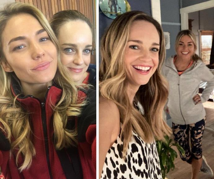 Summer Bay besties! Inside Sam Frost and Penny McNamee's beautiful friendship
