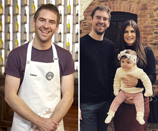 "Eliminated MasterChef star Callum Hann's wife posts a lovely photo tribute to ""the best husband and father"""