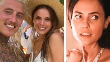 SHOCK NEW VIDEO: Renee Barrett reacts to ex-boyfriend Ciarran Stott and Cassandra Mamone's flirt fest on Bachelor In Paradise