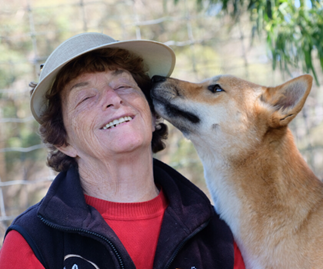 REAL LIFE STORY: Meet the woman fighting for dingo rights