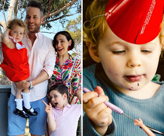 Hamish Blake just stayed up all night (Yes, again!) to make his daughter Rudy the most epic birthday cake