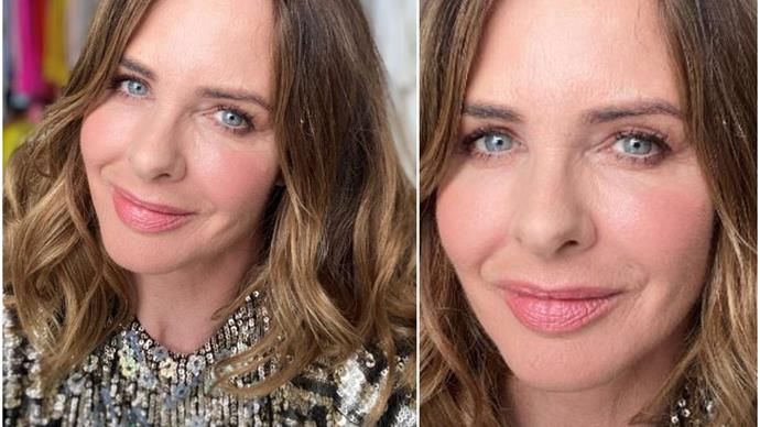 Trinny Woodall has the best makeup trick that'll lift your eyes in seconds