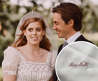 Special hidden detail in Princess Beatrice's personalised pre-wedding outfit revealed