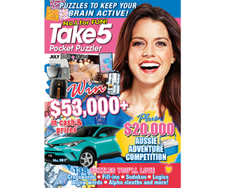 Take 5 Pocket Puzzler Issue 191 Online Entry Coupon