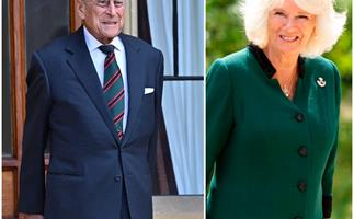 Prince Philip steps briefly out of retirement at age 99 as he makes a rare appearance with Duchess Camilla