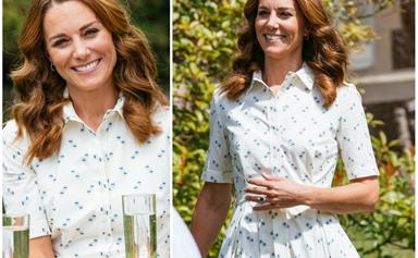 Duchess Catherine glows in the perfect summer dress during a surprise engagement