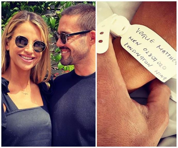 Pippa Middleton's brother-in-law Spencer Matthews and wife Vogue Williams welcome a baby girl