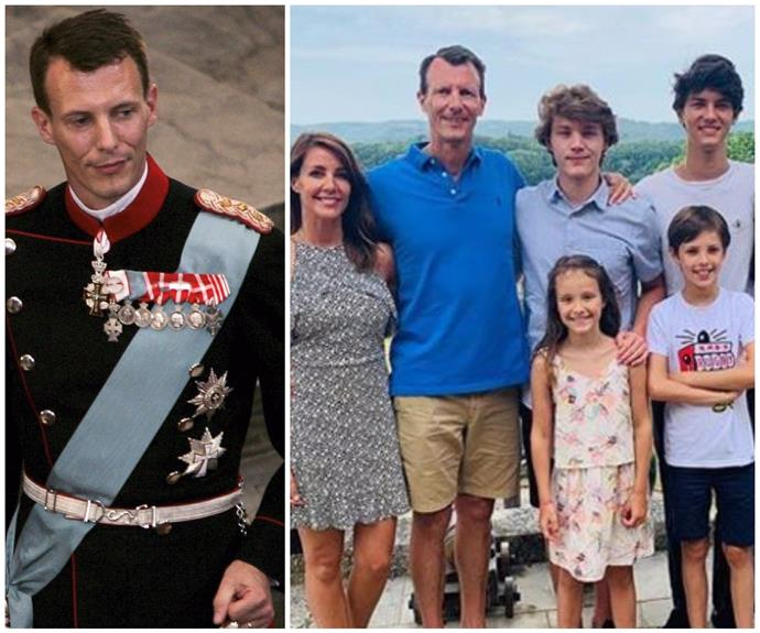 """UPDATE: Denmark's Prince Joachim is """"doing well"""" following emergency surgery for a blood clot"""