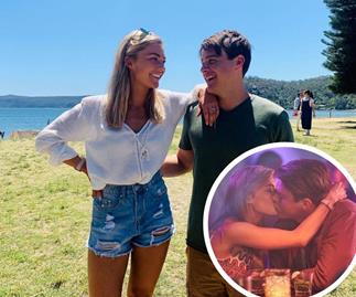 IN PHOTOS: Every time Home And Away's Sam Frost and Tim Franklin set our hearts ablaze
