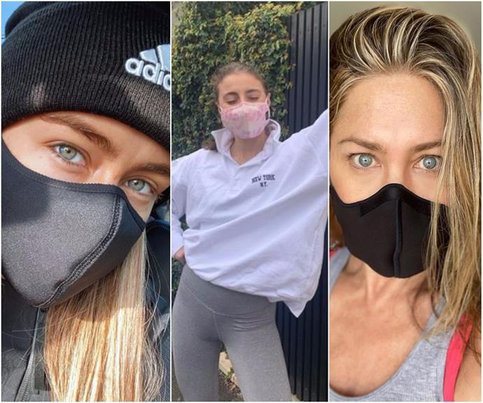 The masked parade: The best snaps of celebrities getting their mask on