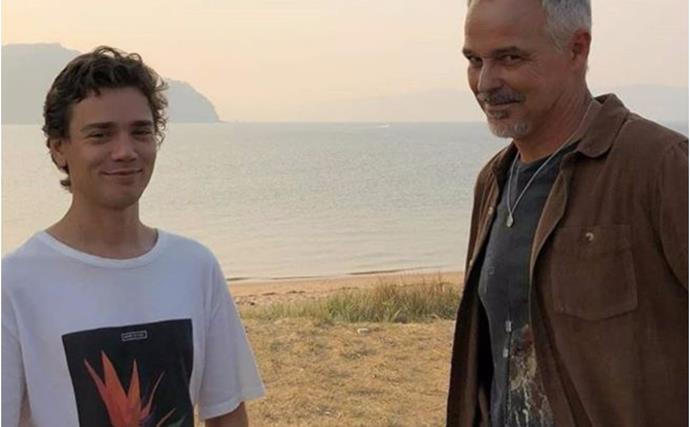 """""""Let's not waste a moment..."""": Home and Away's Cameron Daddo posts an emotional tribute to his on-screen son as his character is written off"""
