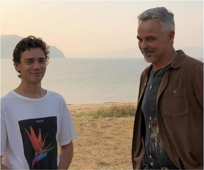 """Let's not waste a moment..."": Home and Away's Cameron Daddo posts an emotional tribute to his on-screen son as his character is written off"