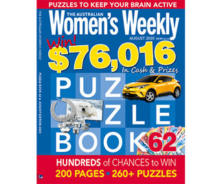 The Australian Women's Weekly Puzzle Book Issue 62