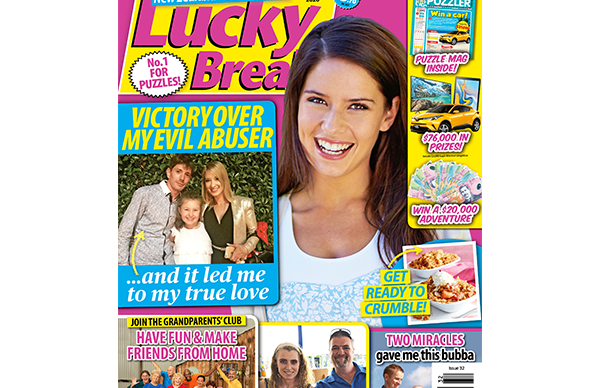 Lucky Break Issue 32 Entry Coupon