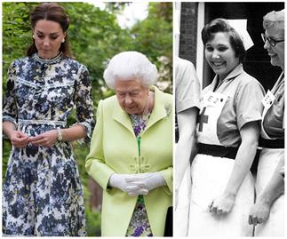 Duchess Catherine releases a rare archived photo as she teams up with the Queen for a special milestone