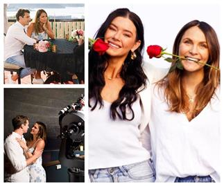 Bunk beds, a fake gym and TWO mansions: Laura Byrne and Britt Hockley reveal the reality behind The Bachelor cameras
