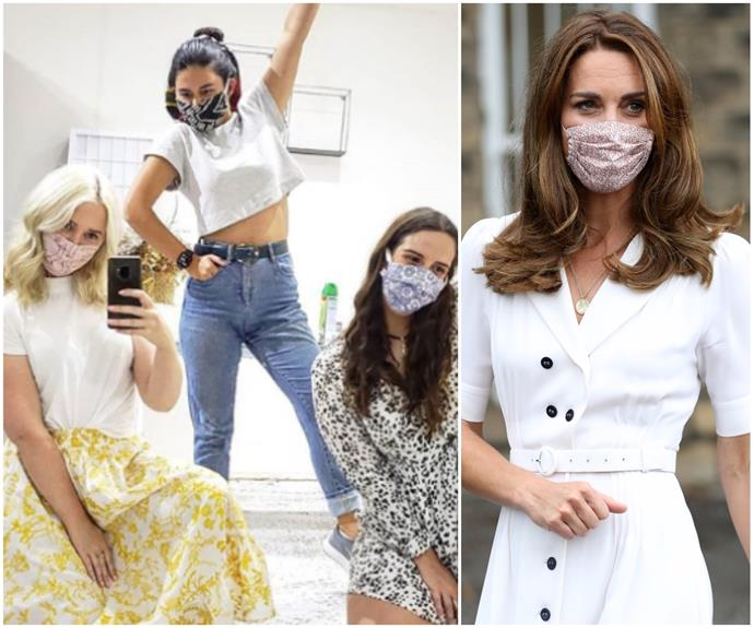 Get Duchess Kate's face-mask chic: Here are the most stylish masks in Australia