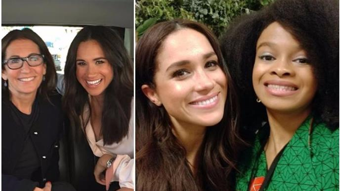 A bunch of rare, behind-the-scenes pictures of Duchess Meghan have surfaced this week for a special reason
