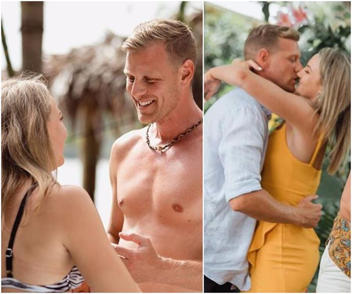 When you know, you know: The pictures that sum up Glenn and Alisha's perfect Paradise romance